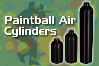 Aluminum Paintball Cylinders