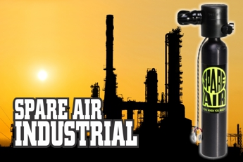 Spare Air Industrial - For land-based out of air emergencies
