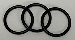 Set of 3 tank o-rings