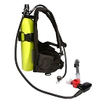 Complete mini dive & snorkel system! Just 15 lbs.